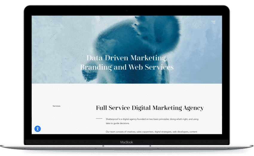 project-image-Website for the digital marketing agency