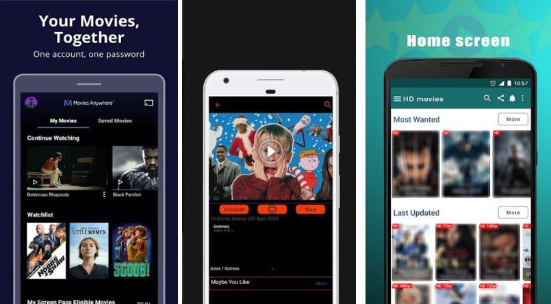 movie entertainment apps