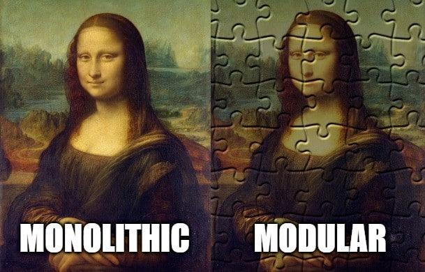 modular architecture vs monolithic